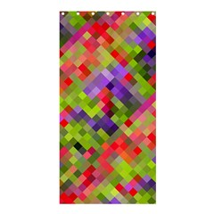 Colorful Mosaic Shower Curtain 36  X 72  (stall)  by DanaeStudio
