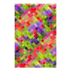 Colorful Mosaic Shower Curtain 48  X 72  (small)  by DanaeStudio
