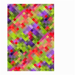 Colorful Mosaic Small Garden Flag (two Sides) by DanaeStudio