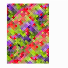 Colorful Mosaic Large Garden Flag (two Sides) by DanaeStudio