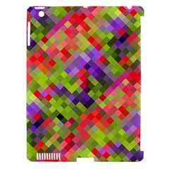 Colorful Mosaic Apple Ipad 3/4 Hardshell Case (compatible With Smart Cover) by DanaeStudio