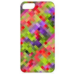 Colorful Mosaic Apple Iphone 5 Classic Hardshell Case by DanaeStudio