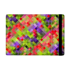 Colorful Mosaic Apple Ipad Mini Flip Case by DanaeStudio