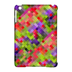 Colorful Mosaic Apple Ipad Mini Hardshell Case (compatible With Smart Cover) by DanaeStudio