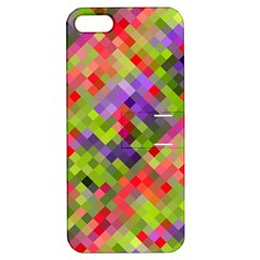Colorful Mosaic Apple Iphone 5 Hardshell Case With Stand by DanaeStudio