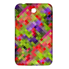 Colorful Mosaic Samsung Galaxy Tab 3 (7 ) P3200 Hardshell Case  by DanaeStudio