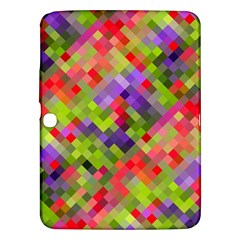Colorful Mosaic Samsung Galaxy Tab 3 (10 1 ) P5200 Hardshell Case  by DanaeStudio