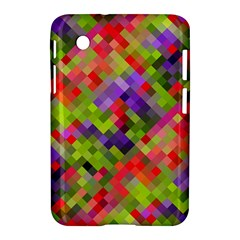 Colorful Mosaic Samsung Galaxy Tab 2 (7 ) P3100 Hardshell Case  by DanaeStudio