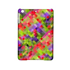 Colorful Mosaic Ipad Mini 2 Hardshell Cases by DanaeStudio
