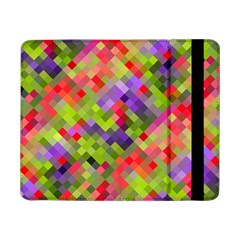 Colorful Mosaic Samsung Galaxy Tab Pro 8 4  Flip Case by DanaeStudio