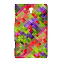 Colorful Mosaic Samsung Galaxy Tab S (8 4 ) Hardshell Case  by DanaeStudio