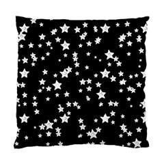 Black And White Starry Pattern Standard Cushion Case (one Side) by DanaeStudio