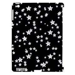 Black And White Starry Pattern Apple Ipad 3/4 Hardshell Case (compatible With Smart Cover) by DanaeStudio
