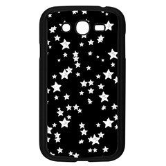 Black And White Starry Pattern Samsung Galaxy Grand Duos I9082 Case (black) by DanaeStudio