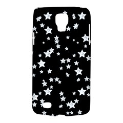Black And White Starry Pattern Galaxy S4 Active by DanaeStudio