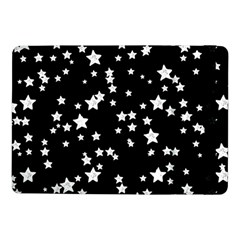 Black And White Starry Pattern Samsung Galaxy Tab Pro 10 1  Flip Case by DanaeStudio