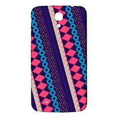 Purple And Pink Retro Geometric Pattern Samsung Galaxy Mega I9200 Hardshell Back Case by DanaeStudio
