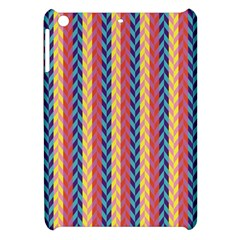Colorful Chevron Retro Pattern Apple Ipad Mini Hardshell Case by DanaeStudio