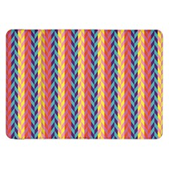 Colorful Chevron Retro Pattern Samsung Galaxy Tab 8 9  P7300 Flip Case by DanaeStudio