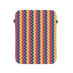 Colorful Chevron Retro Pattern Apple Ipad 2/3/4 Protective Soft Cases by DanaeStudio