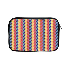 Colorful Chevron Retro Pattern Apple Ipad Mini Zipper Cases by DanaeStudio