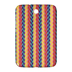 Colorful Chevron Retro Pattern Samsung Galaxy Note 8 0 N5100 Hardshell Case  by DanaeStudio