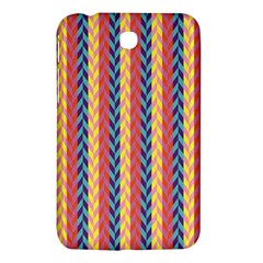 Colorful Chevron Retro Pattern Samsung Galaxy Tab 3 (7 ) P3200 Hardshell Case  by DanaeStudio