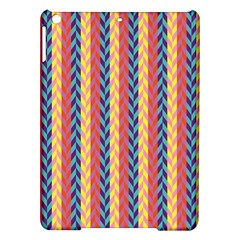 Colorful Chevron Retro Pattern Ipad Air Hardshell Cases by DanaeStudio