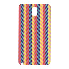 Colorful Chevron Retro Pattern Samsung Galaxy Note 3 N9005 Hardshell Back Case by DanaeStudio
