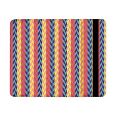 Colorful Chevron Retro Pattern Samsung Galaxy Tab Pro 8 4  Flip Case by DanaeStudio