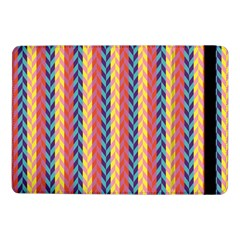 Colorful Chevron Retro Pattern Samsung Galaxy Tab Pro 10 1  Flip Case by DanaeStudio