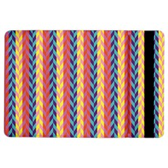 Colorful Chevron Retro Pattern Ipad Air 2 Flip by DanaeStudio