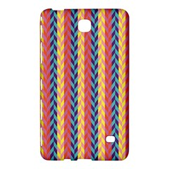 Colorful Chevron Retro Pattern Samsung Galaxy Tab 4 (8 ) Hardshell Case  by DanaeStudio