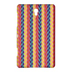 Colorful Chevron Retro Pattern Samsung Galaxy Tab S (8 4 ) Hardshell Case  by DanaeStudio