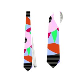 Colorful Retro Circular Pattern Neckties (Two Side)