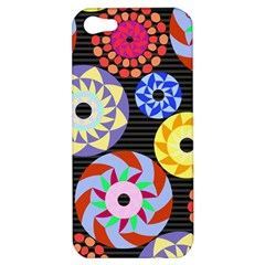Colorful Retro Circular Pattern Apple iPhone 5 Hardshell Case