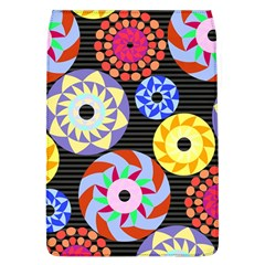 Colorful Retro Circular Pattern Flap Covers (L)