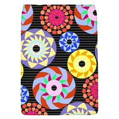 Colorful Retro Circular Pattern Flap Covers (S)