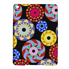 Colorful Retro Circular Pattern iPad Air 2 Hardshell Cases