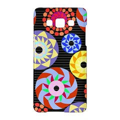 Colorful Retro Circular Pattern Samsung Galaxy A5 Hardshell Case