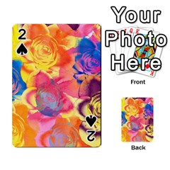 Pop Art Roses Playing Cards 54 Designs