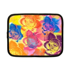 Pop Art Roses Netbook Case (Small)