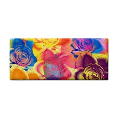Pop Art Roses Hand Towel
