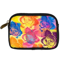 Pop Art Roses Digital Camera Cases