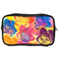 Pop Art Roses Toiletries Bags 2-Side
