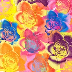Pop Art Roses Magic Photo Cubes
