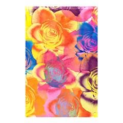 Pop Art Roses Shower Curtain 48  x 72  (Small)