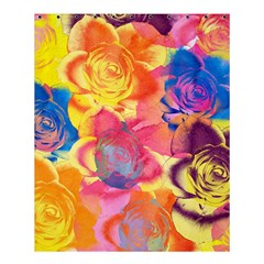 Pop Art Roses Shower Curtain 60  x 72  (Medium)