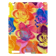 Pop Art Roses Apple iPad 3/4 Hardshell Case