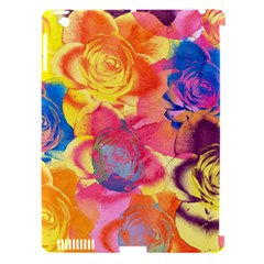 Pop Art Roses Apple iPad 3/4 Hardshell Case (Compatible with Smart Cover)
